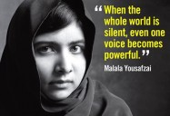 Malala : the power of one voice